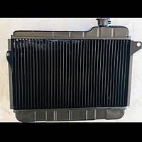 Радиатор основной ВАЗ 2107 медный  2х рядный Иран