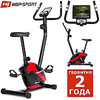 Магнитный велотренажер HS-045H Eos red до 120 кг. Магнитный для дома. Гарантия 24 мес.