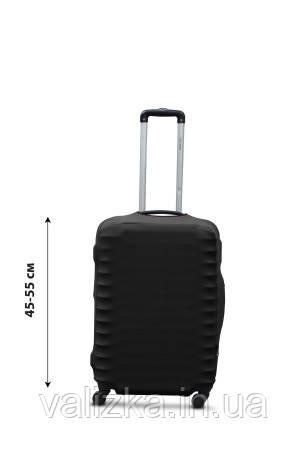 Защитный чехол для чемодана из дайвинга черный S для малого чемодана