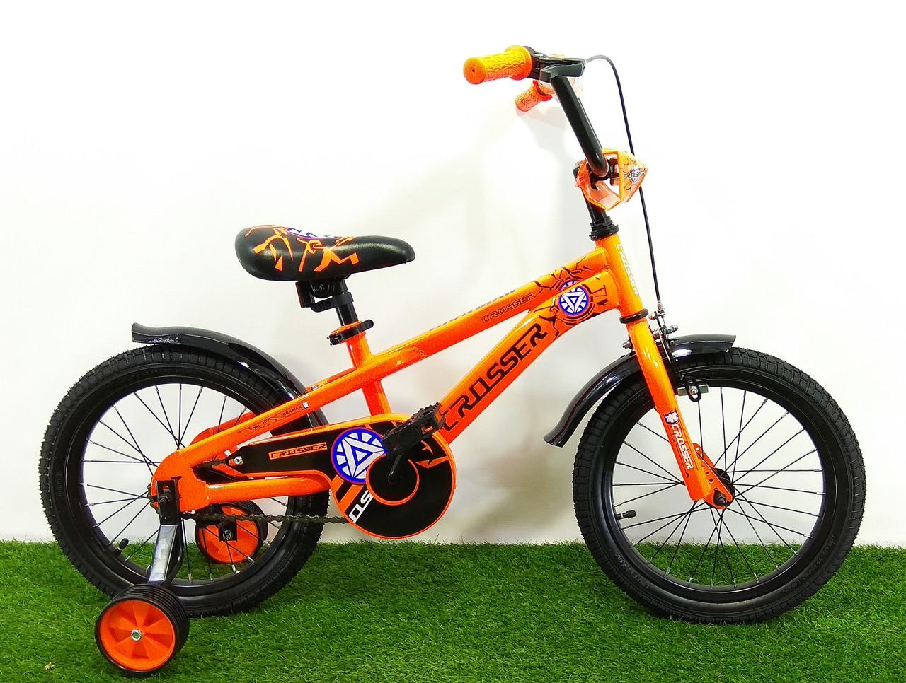 """Детский велосипед Crosser G960 IRON MAN 16"""""""