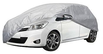 Тент автомобильный, размер XL, тент на авто, тент защитный, солнцезащитный чехол на авто хетчбек HС11106.