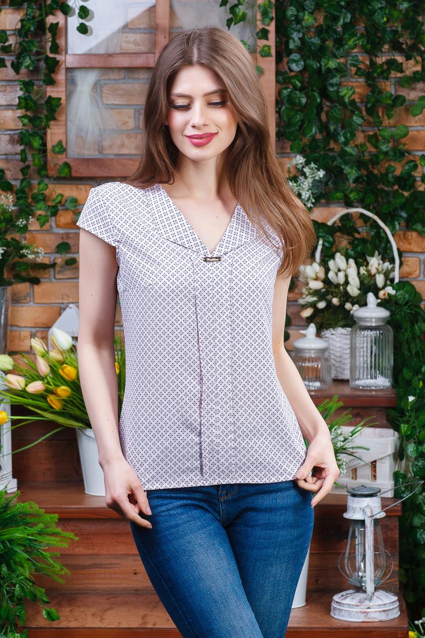 Летняя блуза с коротким рукавом, Бл- 5921