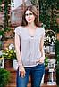 Летняя блуза с коротким рукавом, Бл- 5921, фото 2