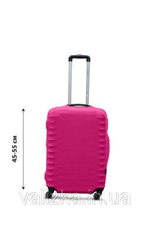 Защитный чехол для чемодана из дайвинга розовый S для малого чемодана
