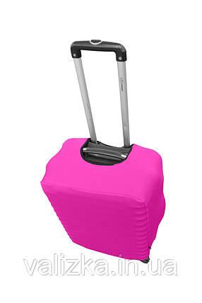 Защитный чехол для чемодана из дайвинга розовый S для малого чемодана , фото 2