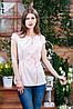 Летняя блуза серого цвета, Бл- 5940, фото 2