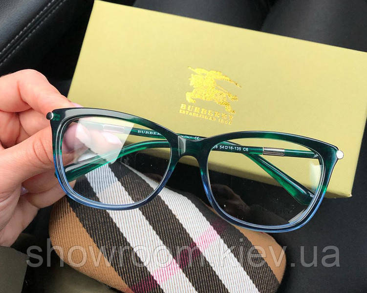 Женская брендовая оправа в стиле Burberry 8526 (green)