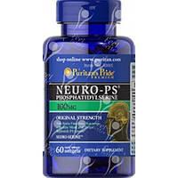Препарат для регулирования нервных процессов Puritan's Pride Neuro-Ps 100 мг (60 порций) (60 капс)