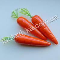 Морковь искусственная Люкс 55мм, муляж