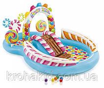 Игровой надувной водный центр INTEX 57149 NP Карамель  (295-191-130 см)