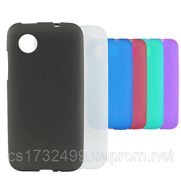 Чехол-накладка Silicon Case HTC Desire V/DesireX (T328w/T328e) Blue