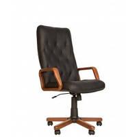 Кресло для руководителей CUBA extra Tilt EX1 С деревянными подлокотниками и накладками базы