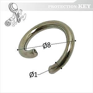 Переходник-соединения Jump ring 8 мм