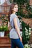 Летняя блуза на пуговицах , Бл- 5980, фото 2