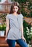Летняя блуза на пуговицах , Бл- 5980, фото 3