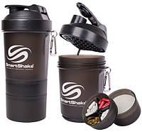 Шейкер SmartShake Original NEON Black (600 мл)
