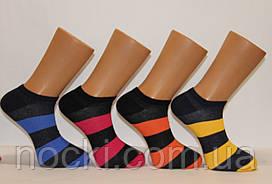 Мужские носки короткие с хлопка Кардешлер 41-45  полосатые