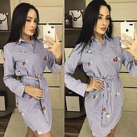 Платье - рубашка женское АКОЛ233, фото 1