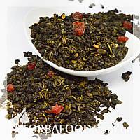 Чай зеленый Земляничная симфония 100 грамм, фото 1