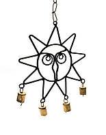 """Подвеска """"солнце"""" с колокольчиками (41х19 см)"""