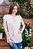 Річна блуза на гудзиках кольору, Бл - 5982, фото 2