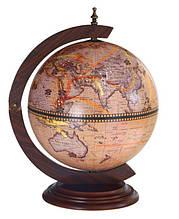Глобус бар настольный 330мм- Зодиак 33002N глобус-бар высота 48 см