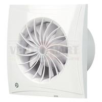 Бесшумный энергосберегающий вентилятор Blauberg Sileo 100/125/150 (таймер, реле влажности)