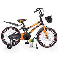 """Детский двухколесный велосипед колеса 18 дюймов """"HAMMER-18"""" S500"""