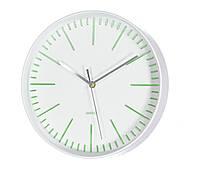 Настенные часы белый пластик d30см 3869600