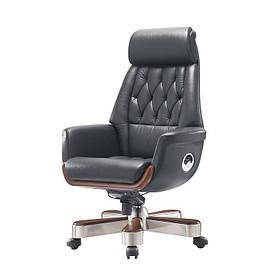 Кресло Миллер EX RL-MB комбинированная кожа люкс LC-А (АКЛАС-ТМ)
