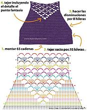 Кроп-Топ. Подборка схем с описанием