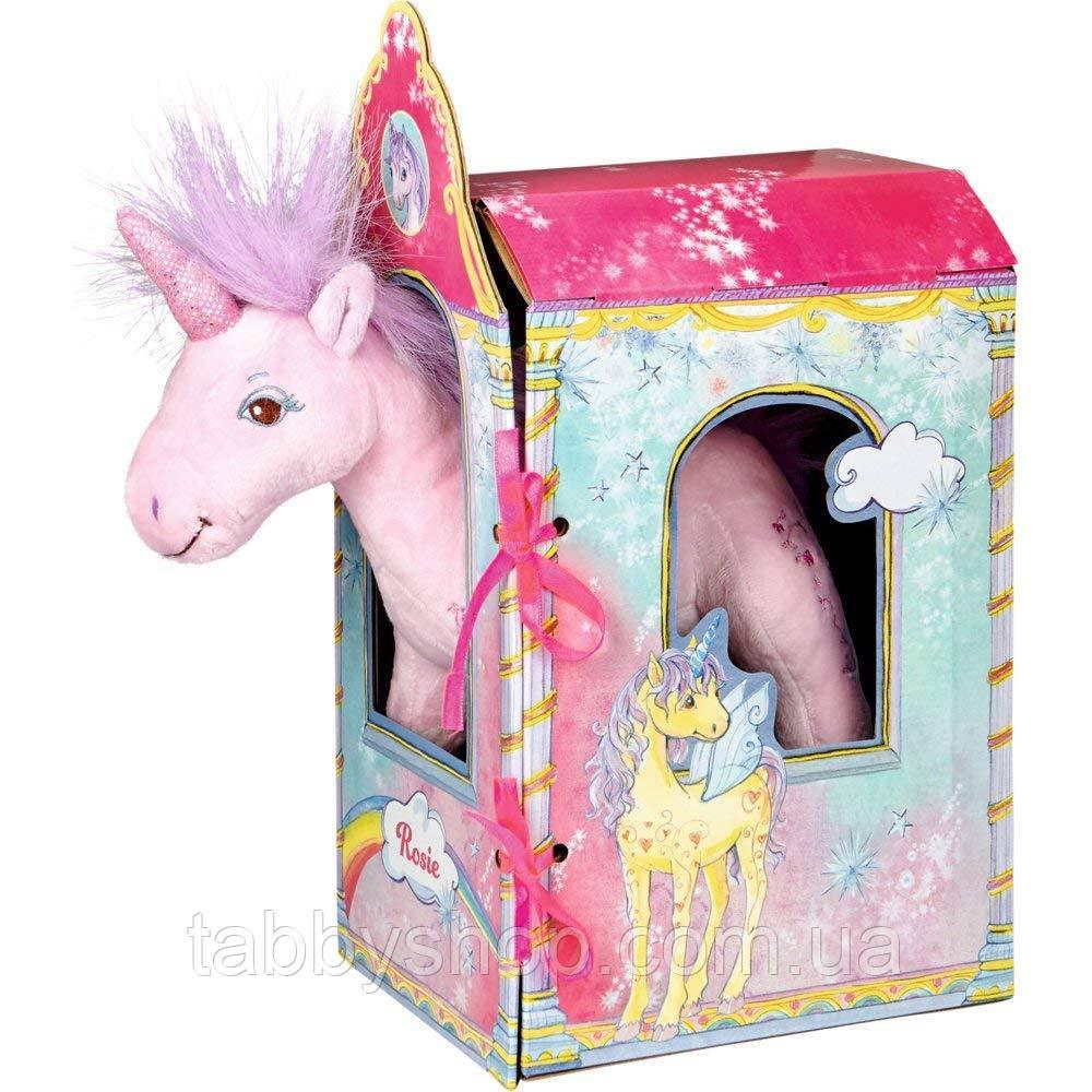 """Мягкая игрушка Spiegelburg """"Единорог Рози в домике"""""""
