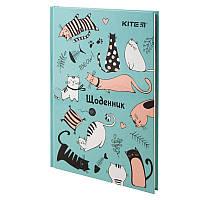 Дневник школьный Kite Funny Cats K19-262-4, твердая обложка