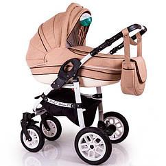 Детская коляска 2в1 Baby Marlen капучино