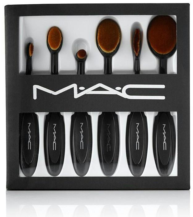 Набор кистей - щеток MAC 6 шт