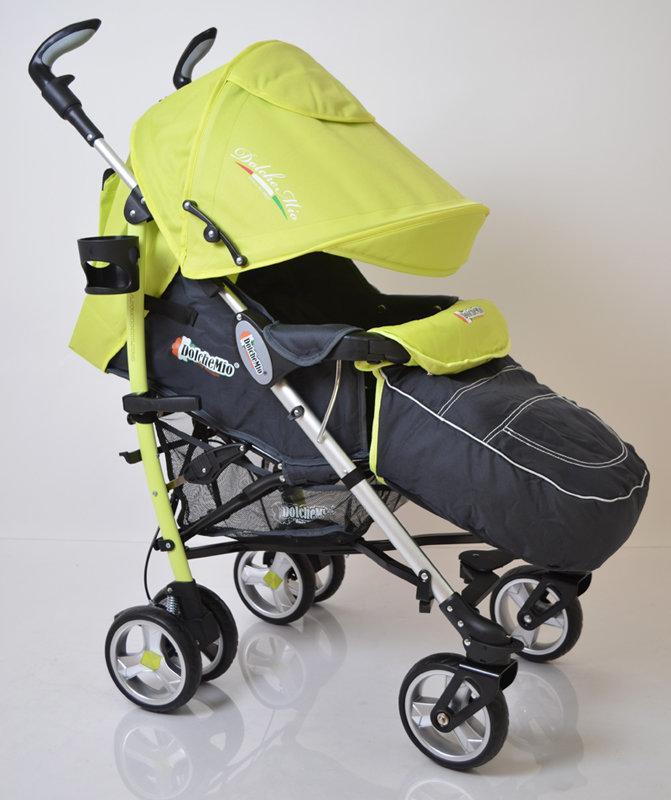 Дитяча коляска тростина DolcheMio-SH638APB Light Green