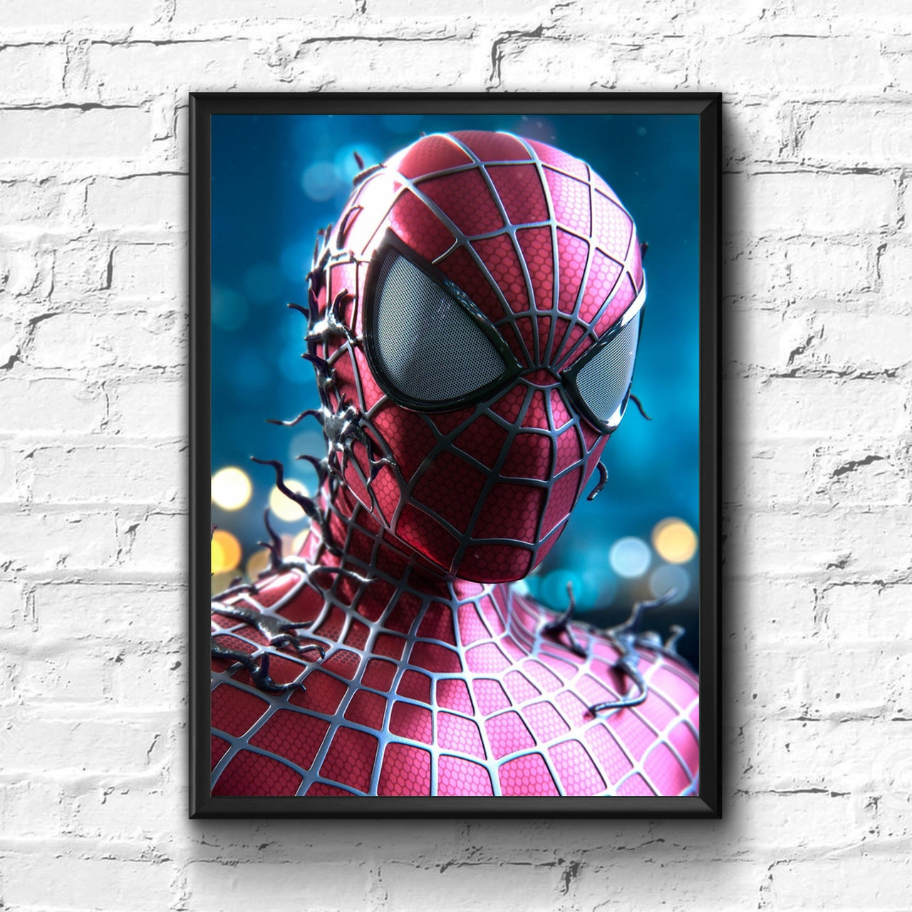 Постер с рамкой Spider-Man, Marvel #2