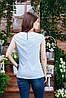 Летняя блуза голубая, Бл- 6080, фото 2