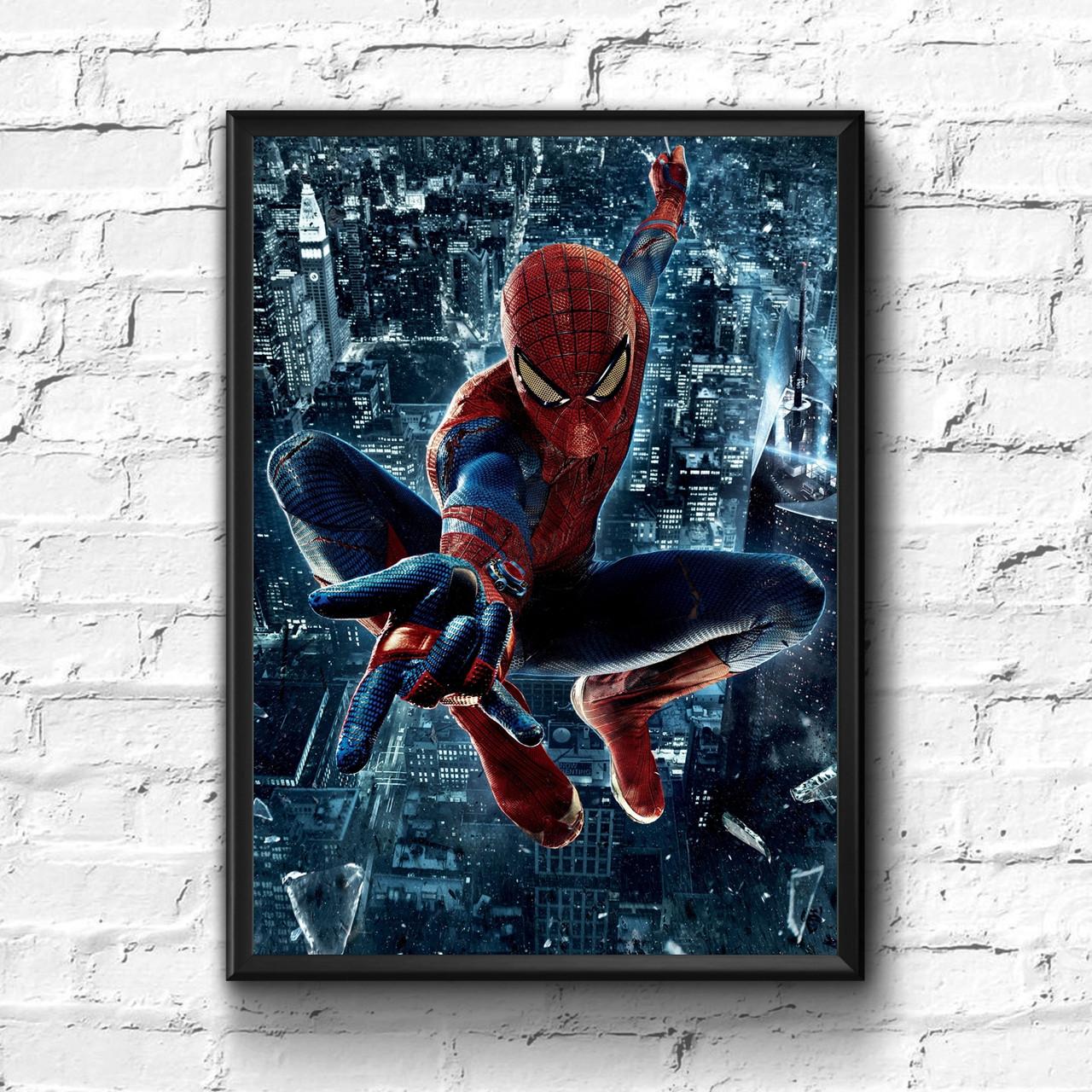 Постер с рамкой Spider-Man, Marvel #4