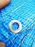 Тент от дождя. 6х12м. Плотность 55 г\м2. С кольцами. Ламинированный. 72 м2, фото 7