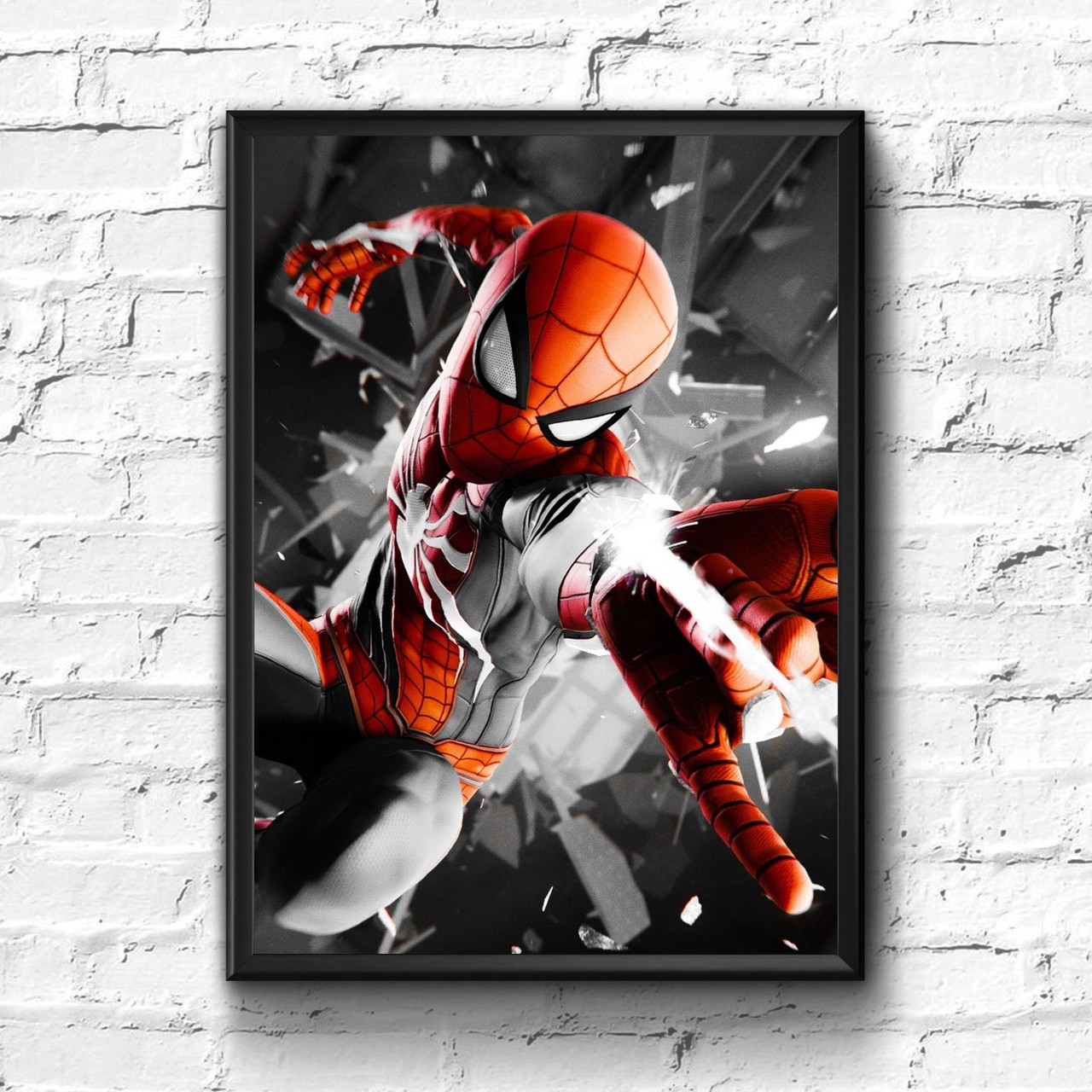 Постер с рамкой Spider-Man, Marvel #8