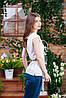 Блуза летння цвет молочный, Бл- 6082, фото 2
