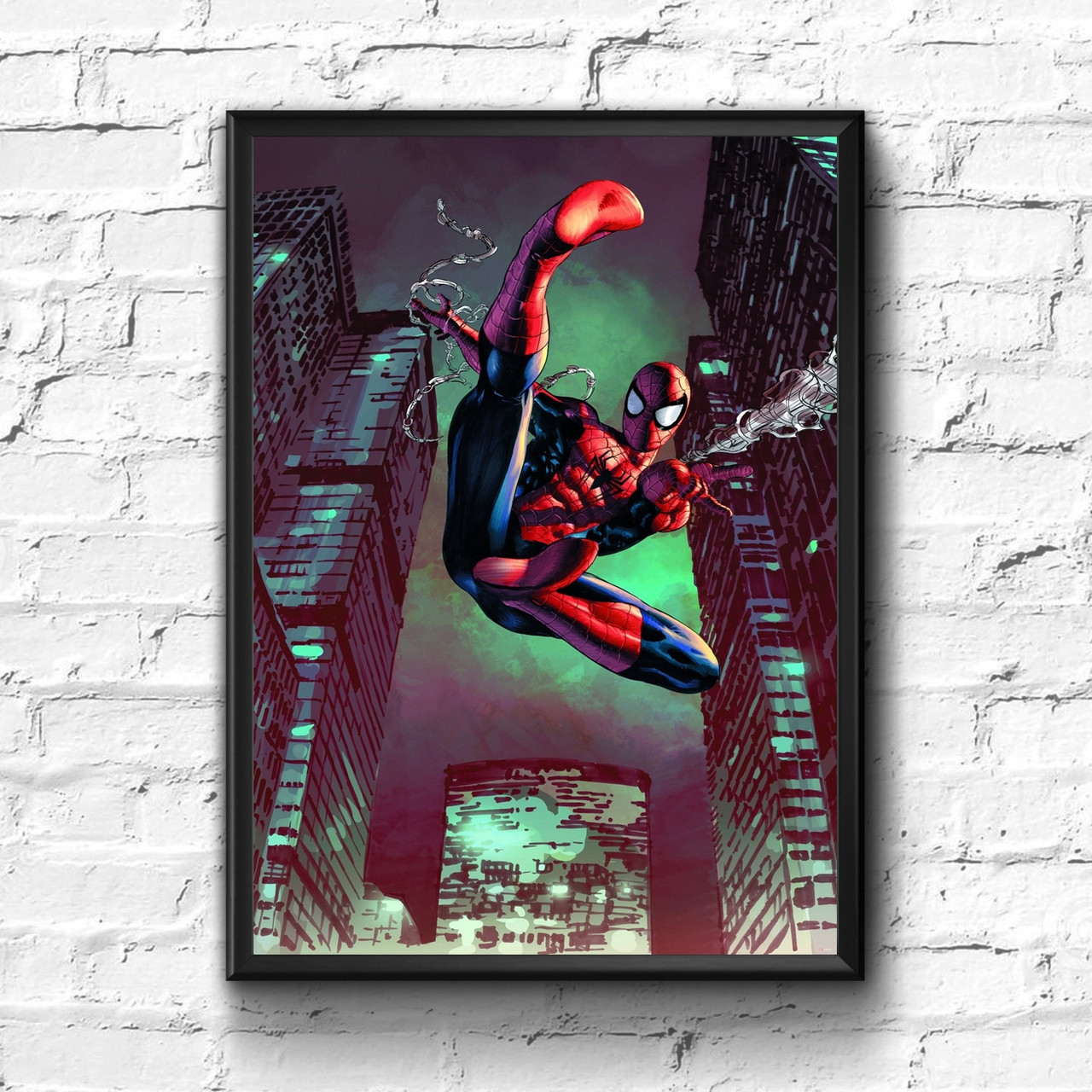 Постер с рамкой Spider-Man, Marvel #15