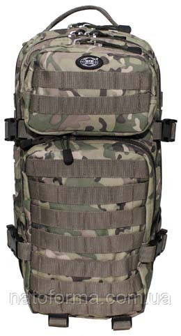 Рюкзак тактический, боевой Assault Pack I (MFH), Multicam (мультикам), система MOLLE, на 30 л