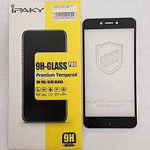 Защитное стекло Xiaomi Redmi Go/Redmi 5a  Black 4D Ipaky