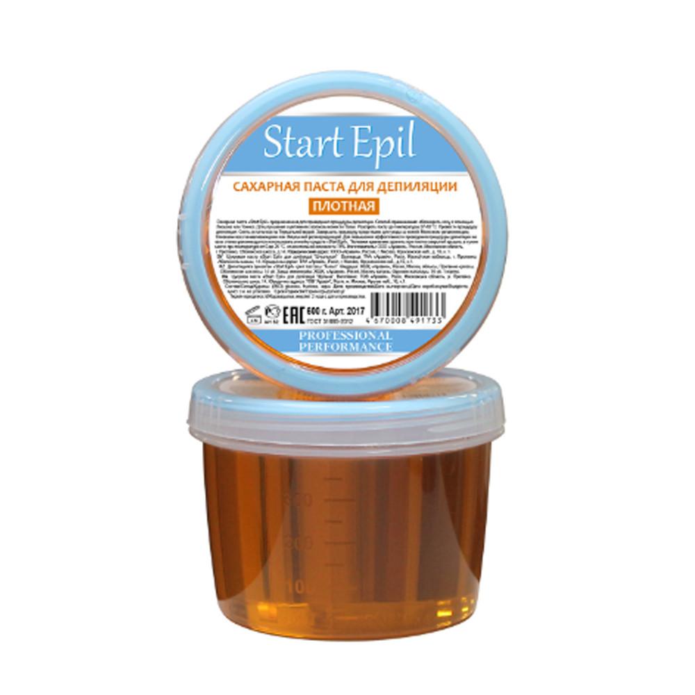 Сахарная паста для депиляции плотная Start Epil 600 г