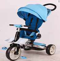 Дитячий велосипед-коляска 6 в 1 Crosser T-600 Rosa блакитний