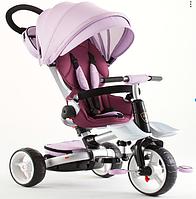 Дитячий велосипед-коляска 6 в 1 Crosser T-600 Rosa фіолетовий