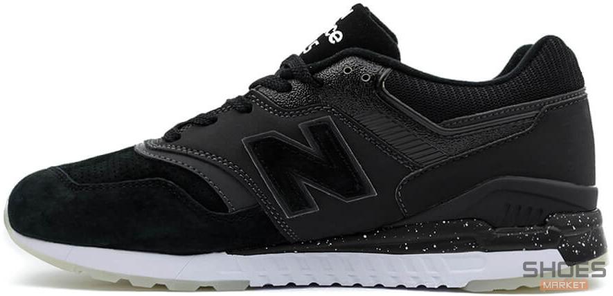 Мужские кроссовки New Balance ML997HBA Black, Нью беланс 997