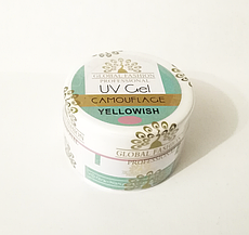 Гель Global Fashion, Yellowish, камуфляжный 15 гр